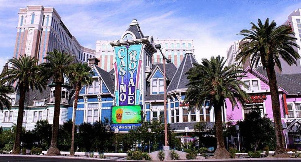 Casino-Royale på The Strip i Las-Vegas